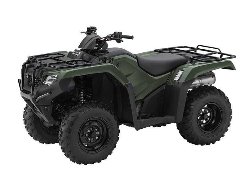 2016 FourTrax Rancher 4x4 DCT EPS Olive (TRX420FA2)