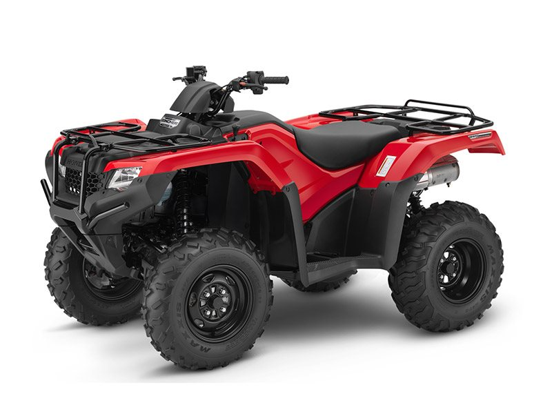 2016 FourTrax Rancher 4x4 DCT IRS Red (TRX420FA5)