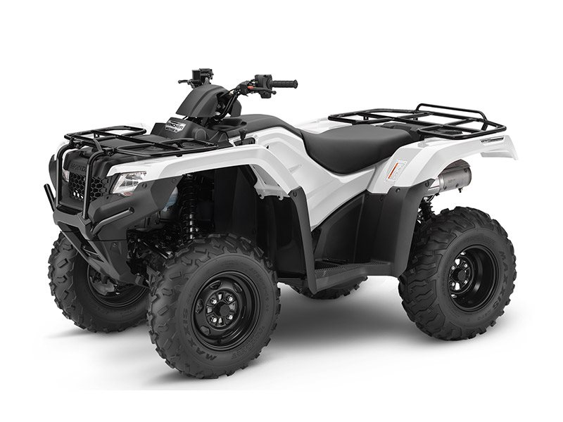2016 FourTrax Rancher 4x4 DCT IRS White (TRX420FA5)