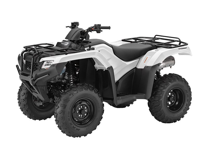 2016 FourTrax Rancher 4x4 DCT IRS EPS White (TRX420FA6)