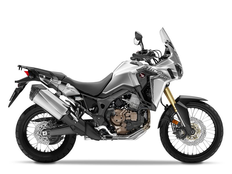 2016 Africa Twin DCT Digital Metallic Silver