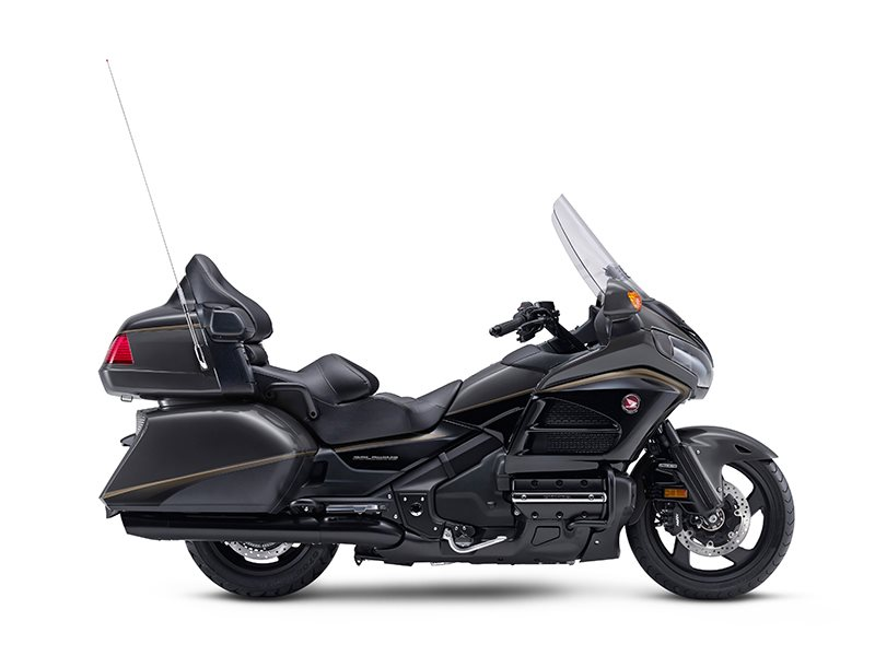 2016 Gold Wing ABS Grey Metallic / Black
