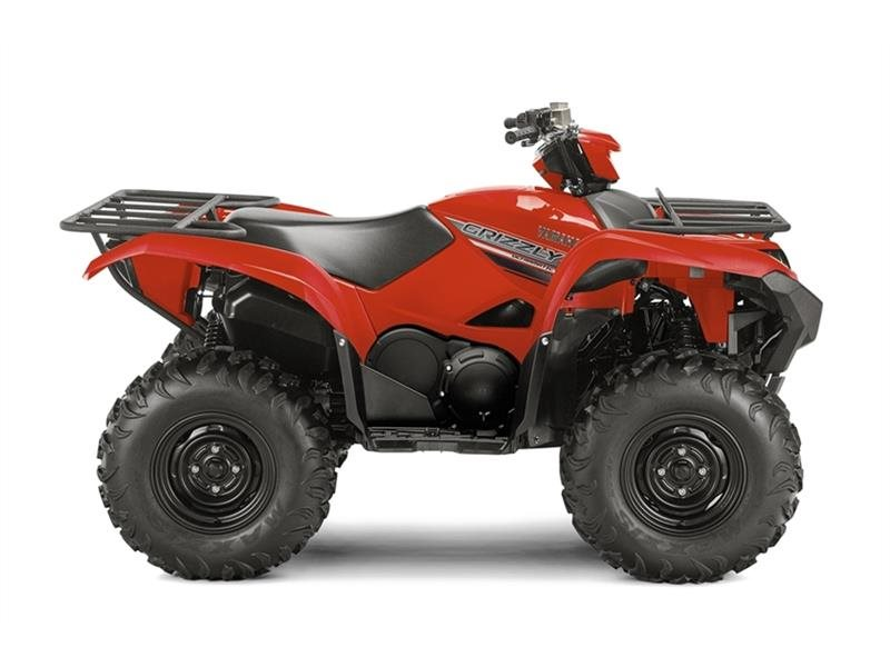 2016 Grizzly Red