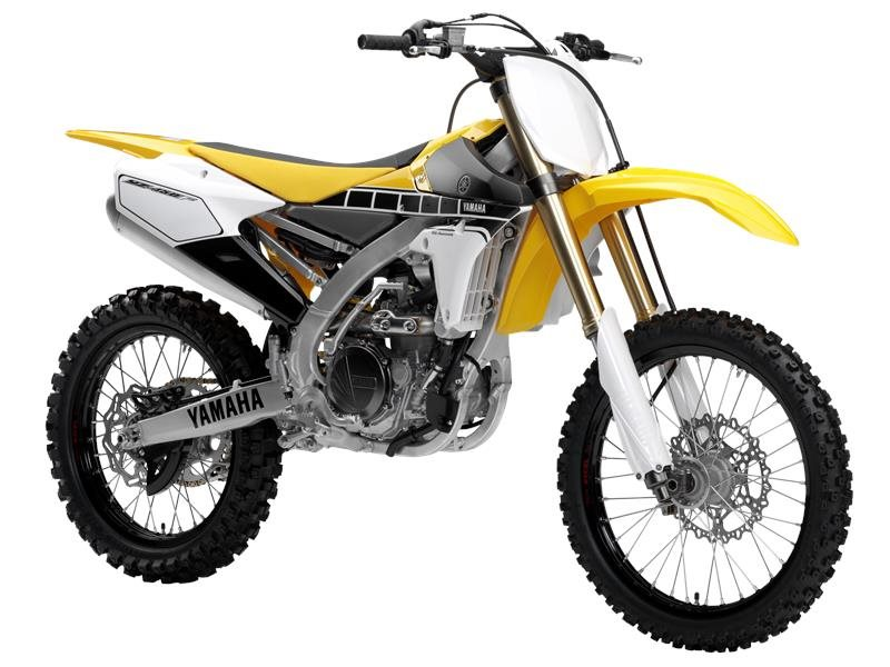2016 YZ450F 60th Anniversary Yellow / Black