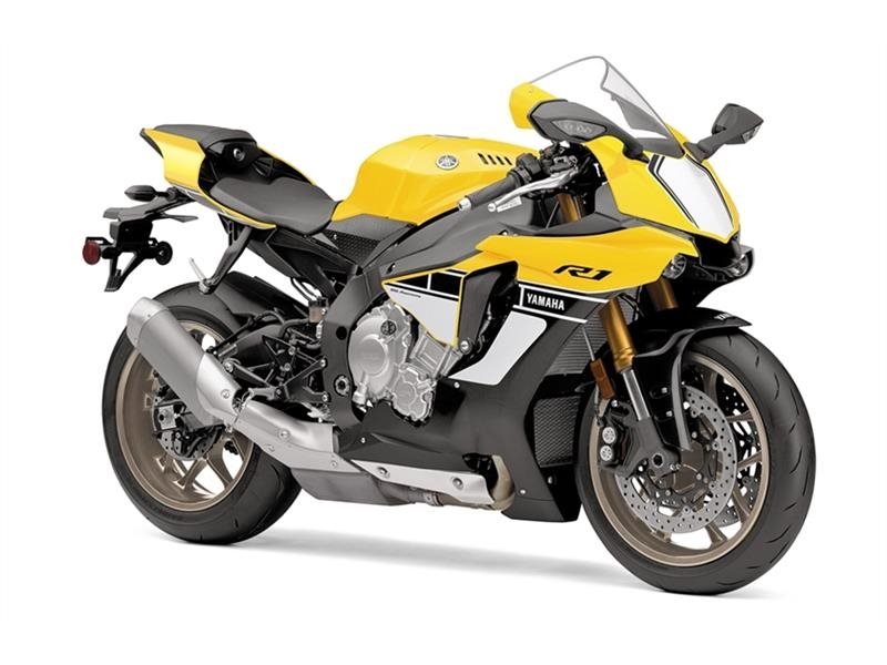 2016 YZF-R1 60th Anniversary Yellow