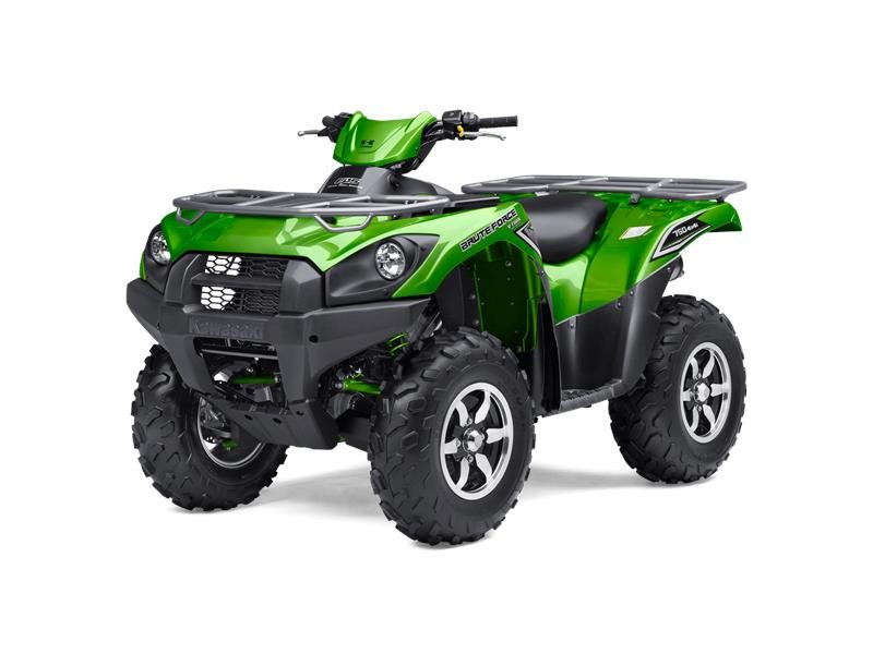 2016 Brute Force 750 4x4i EPS Candy Lime Green