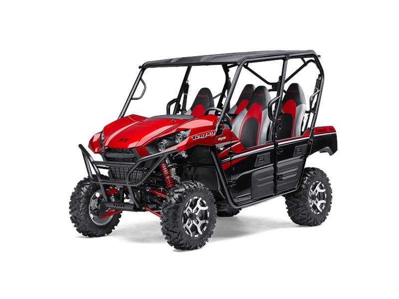 2016 Teryx4 LE Candy Persimmon Red