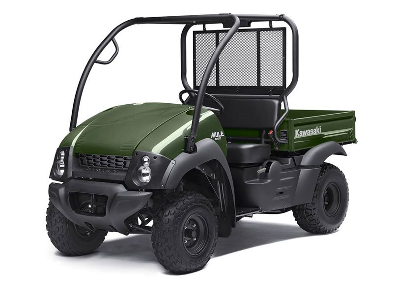 2016 Mule 600 Timberline Green