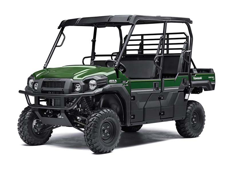 2016 Mule PRO-DXT EPS LE Timberline Green