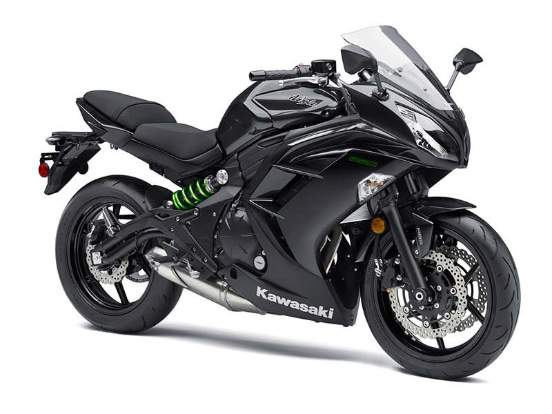 2016 Ninja 650 ABS Metallic Carbon Gray