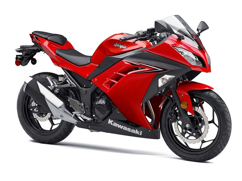 2016 Ninja 300 ABS Passion Red