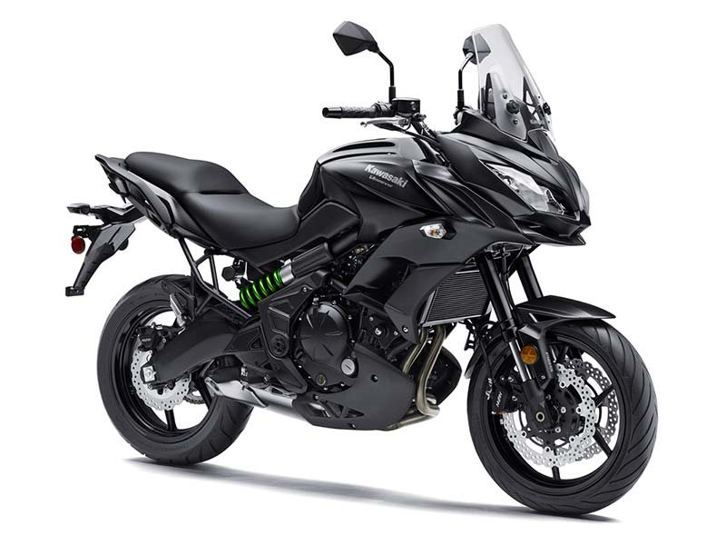 2016 Versys 650 ABS Metallic Matte Carbon Gray / Metall