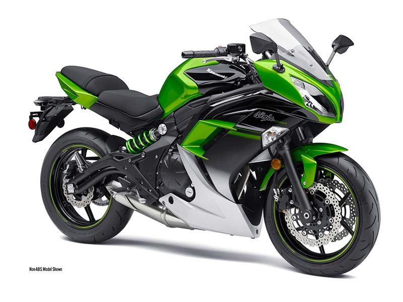 2016 Ninja 650 Candy Lime Green / Metallic Spark Black