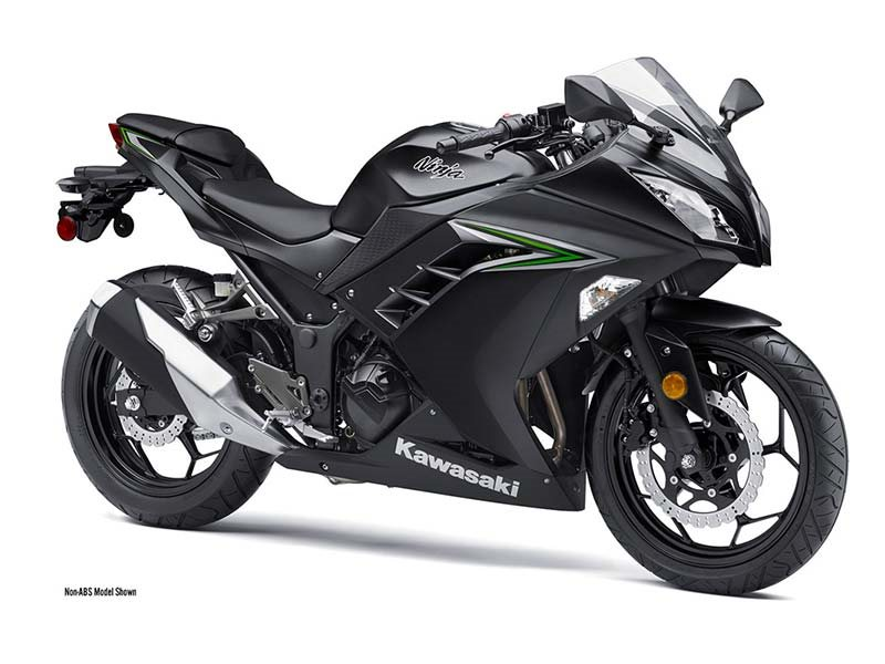 2016 Ninja 300 Metallic Matte Carbon Gray