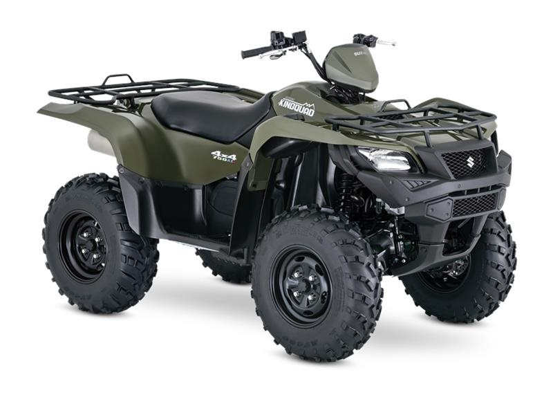 2016 KingQuad 750AXi Power Steering Terra Green