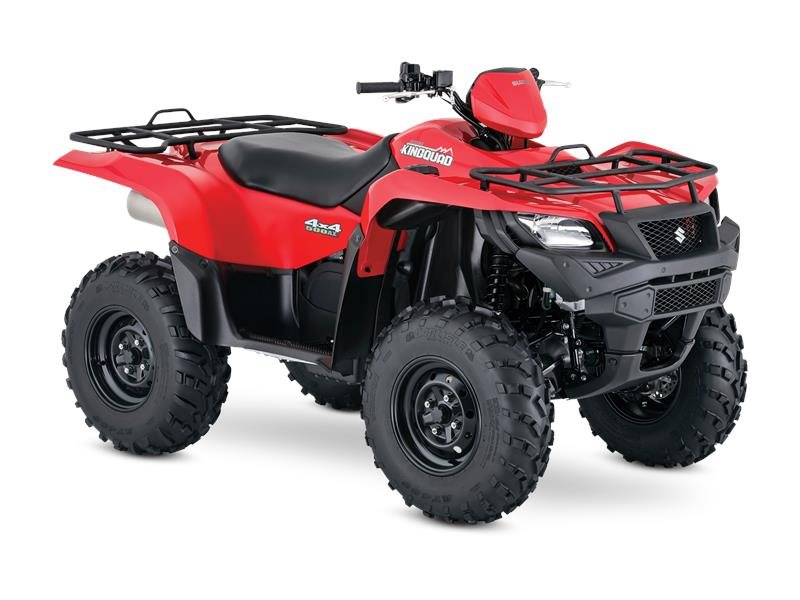 2016 KingQuad 500AXi Flame Red