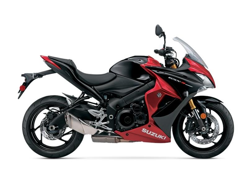 2016 GSX-S1000F ABS Candy Daring Red / Sparkle Black Me