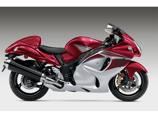 2016 Hayabusa - Candy Daring Red / Metallic Mystic Silv