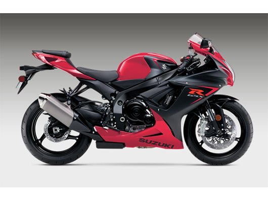 2016 GSR-R600 - Pearl Mira Red / Metallic Matte Black N