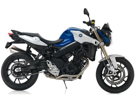 2016 F 800 R - Racing Blue Metallic Matte / Light White