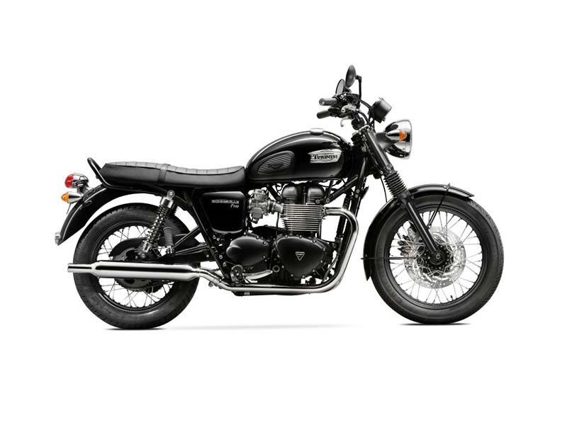 2016 Bonneville T100 - Black
