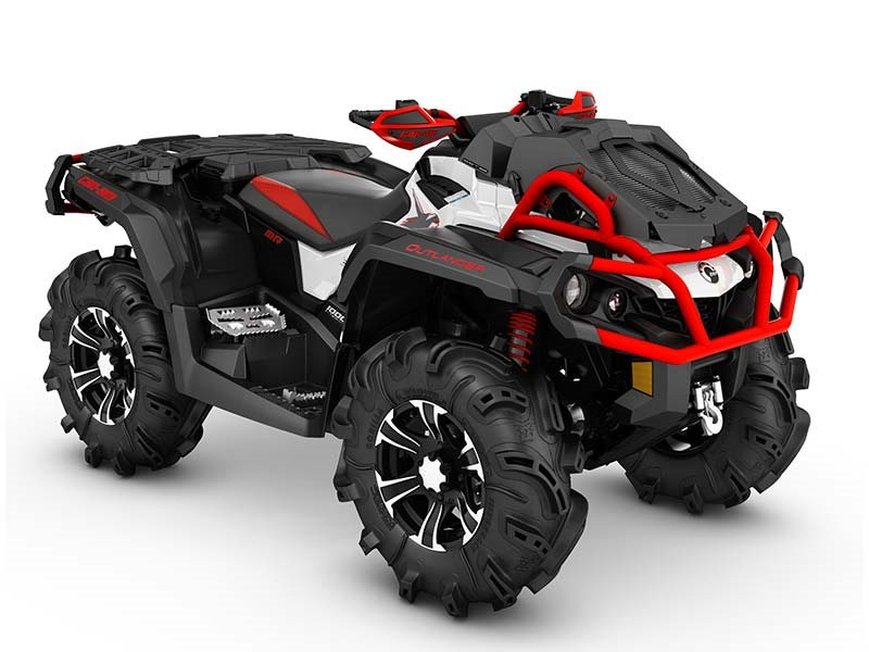 2016 Outlander X mr 1000R White / Black / Can-Am Red