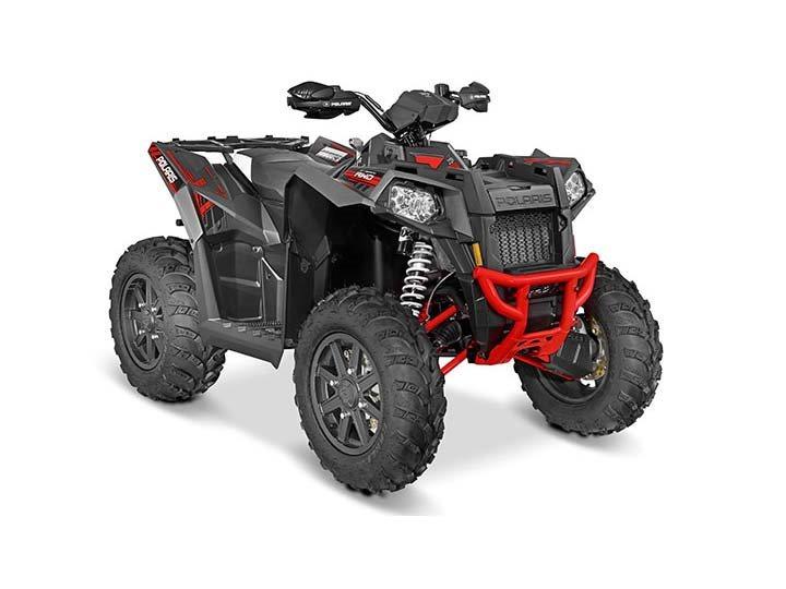 2016 Scrambler XP 1000 Titanium Matte Red