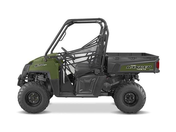 2016 Ranger 570 Full-Size Sage Green