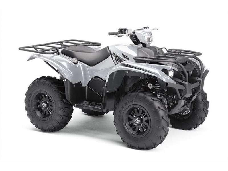 2018 Yamaha Kodiak 700 EPS SE Silver Metallic