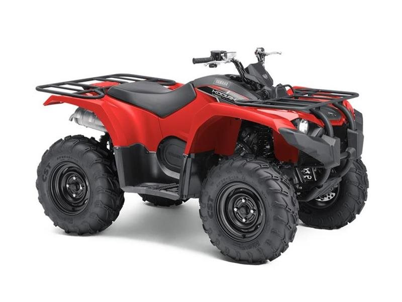 2018 Yamaha Kodiak 450 Red
