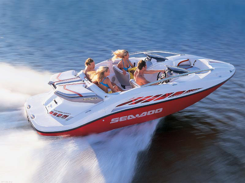 Model: Sea Doo Speedster 200 (370 hp) Color: Red Condition: Used