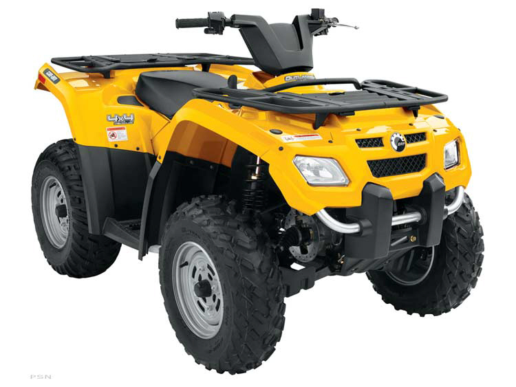 Used 2007 Can Am Outlander 400 Ho For Sale Perth On K7h