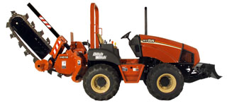 Ditch Witch RT55 2007