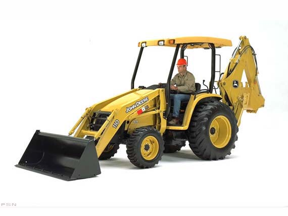John Deere Construction 110 TLB 2007