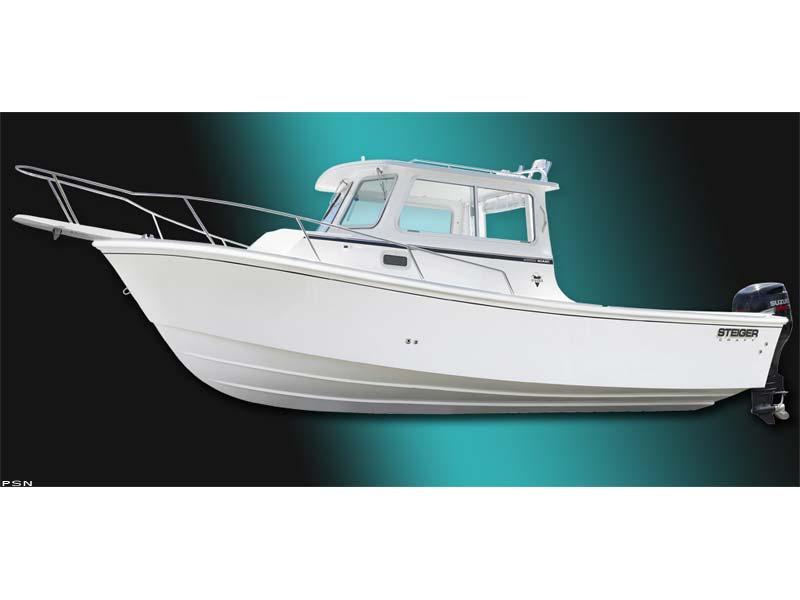 Used 2008 steiger craft 255dv miami chesapeake for sale for Used steiger craft for sale