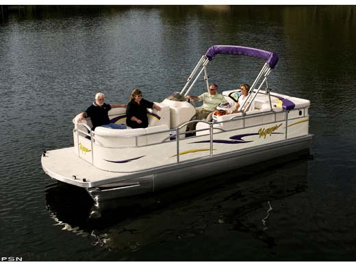 2008 Used Voyager 22' Cruise Pontoon