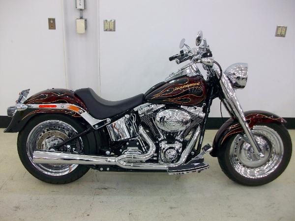 2009 Harley-Davidson FLSTF Softail Fat Boy