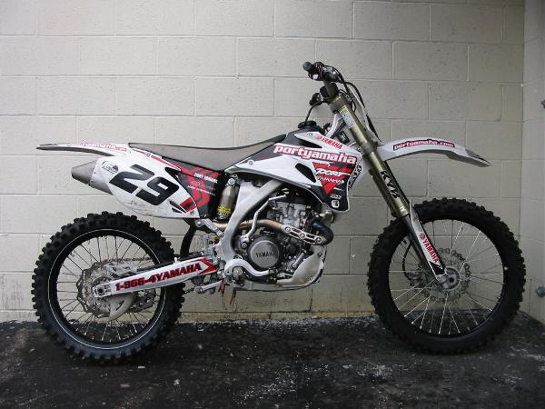 yamaha yz250f 2006 used black white share this images