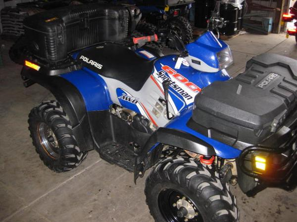 Polaris Sportsman 600 Twin 2004
