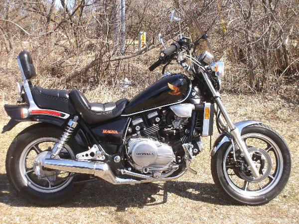 Used 1985 Honda Magna Vf700 For Sale Mukwonago Wi 53149