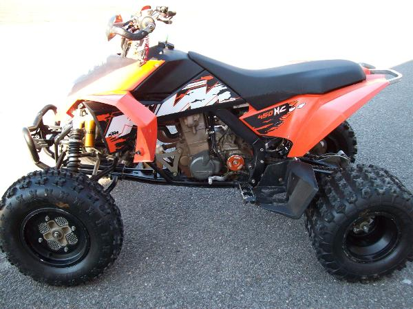 2008 ktm 450 xc atv claysville 15323 usa used cars for sale. Black Bedroom Furniture Sets. Home Design Ideas